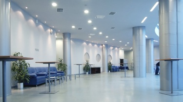 hall in a public building