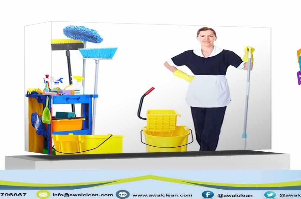 خادمة تنظيف منازل