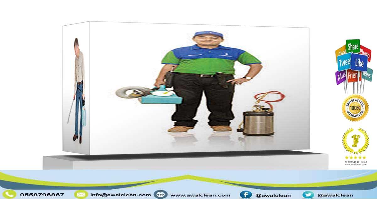 شركة رش مبيدات في دبي